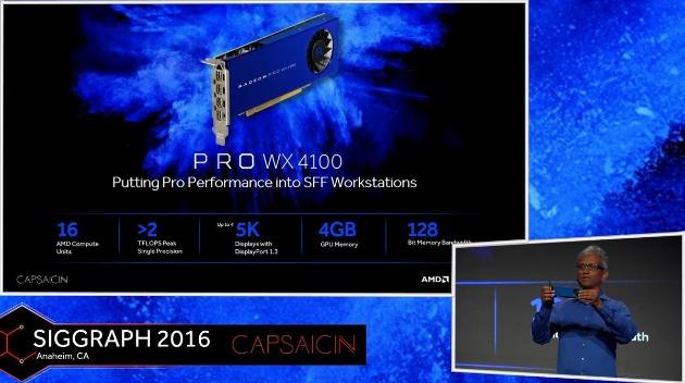 Radeon Pro WX 4100