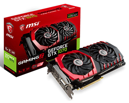 msi gtx 1070 gaming z 8 gb