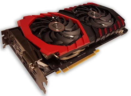 MSI GeForce GTX 1060 Gaming X 6 GB