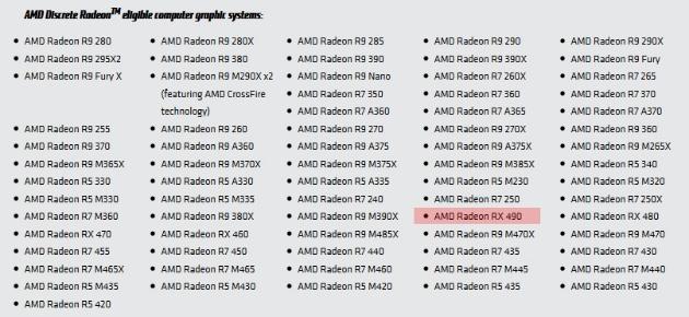 AMD может запустить Radeon RX 490 к концу года