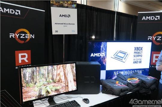 AMD демонстрирует CPU Ryzen в мощной связке с архитектурой GPU Vega