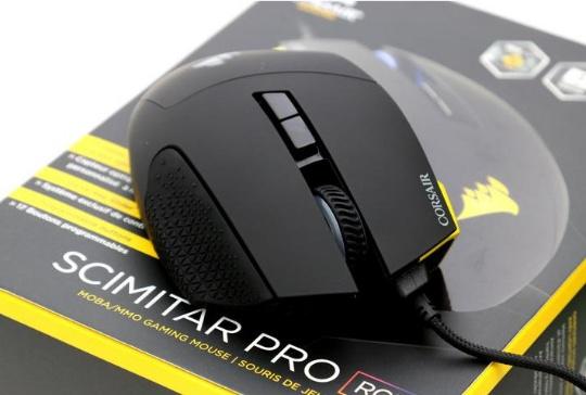 Corsair анонсировал геймерскую мышь SCIMITAR PRO