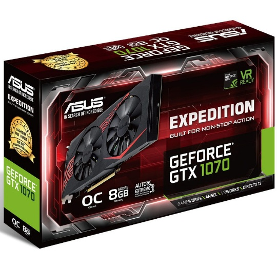ASUS GTX 1070 Expedition