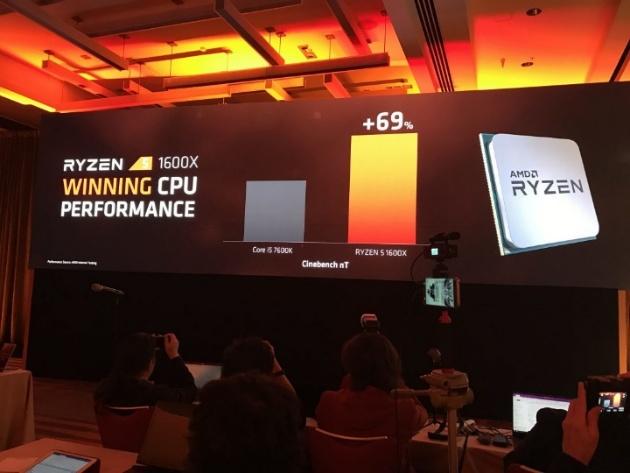 Шестиядерные процессоры AMD Ryzen 5 появятся во II квартале 2017