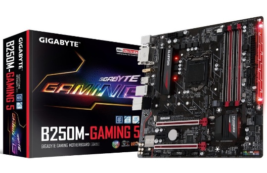 GIGABYTE B250M-Gaming 5