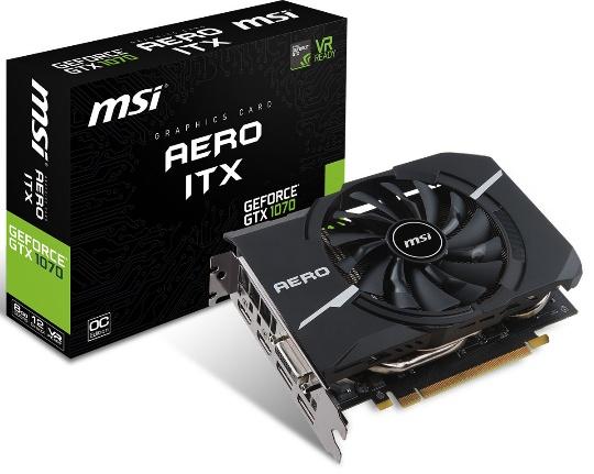 MSI GTX 1070 Aero ITX OC