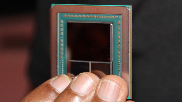Стеки 4 Гбайт памяти HBM2 от SK Hynix открывают путь для AMD Vega