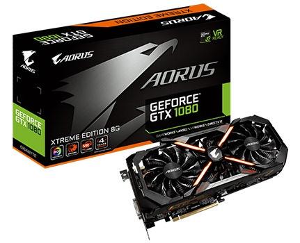 Aorus GTX 1080 Xtreme Edition 8 GB