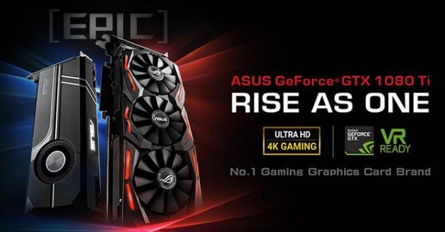 ASUS GeForce GTX 1080 Ti Strix OC 11 GB