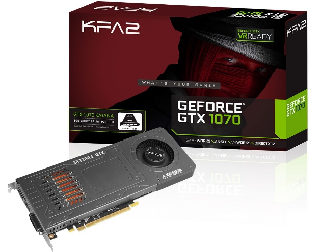 KFA2 GTX 1070 Katana