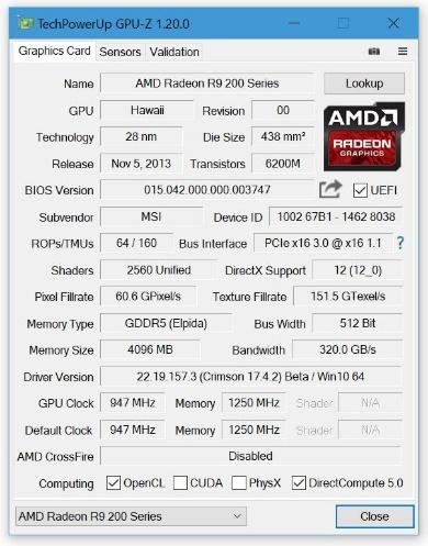 TechPowerUp GPU-Z 1.20.0
