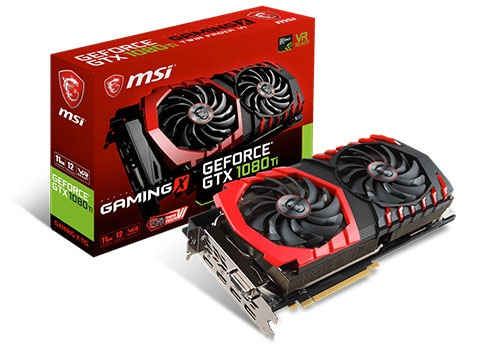 MSI GeForce GTX 1080 Ti Gaming X 11 GB