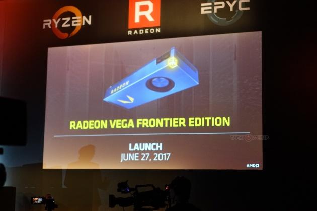 Radeon Vega Frontier Edition в конце июня