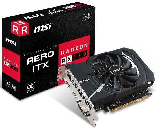 MSI Radeon RX 560 Aero ITX