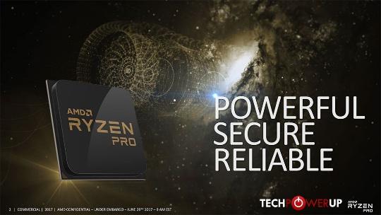 технологии безопасности Ryzen PRO