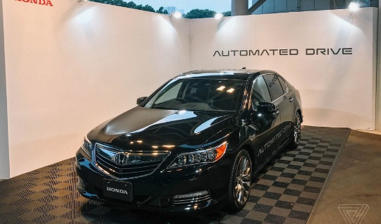 автономный автомобиль Honda