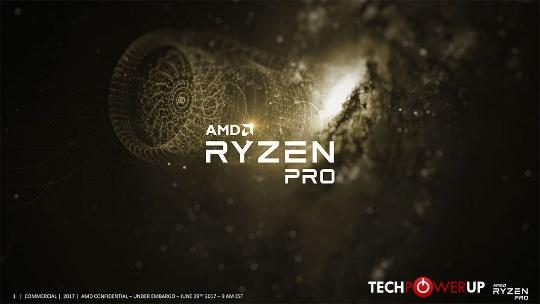 запуск Ryzen PRO