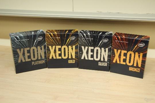 линейка Intel Xeon