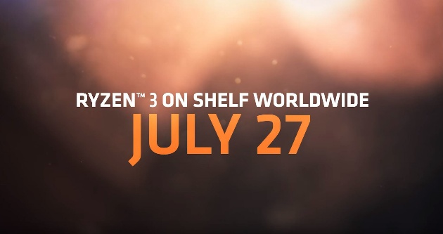 старт Ryzen 3