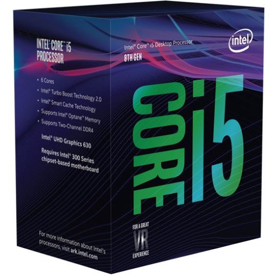 упаковка Core i5 Coffee Lake