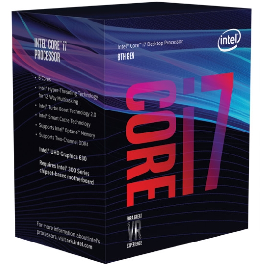 упаковка Core i7 Coffee Lake