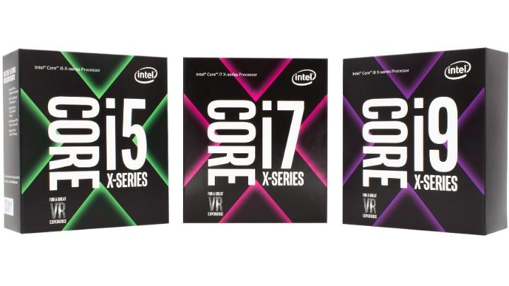 внешний вид упаковки Intel Core X