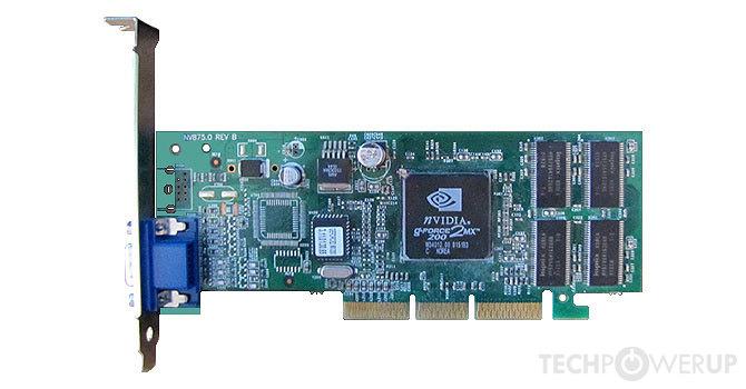nvidia geforce2 mx 200 lp
