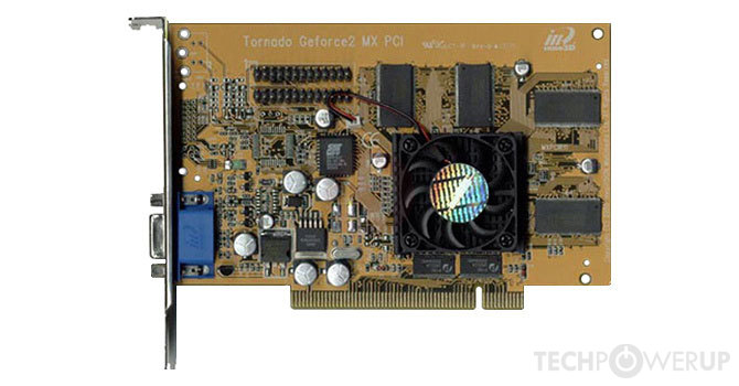 nvidia geforce2 mx 200 pci