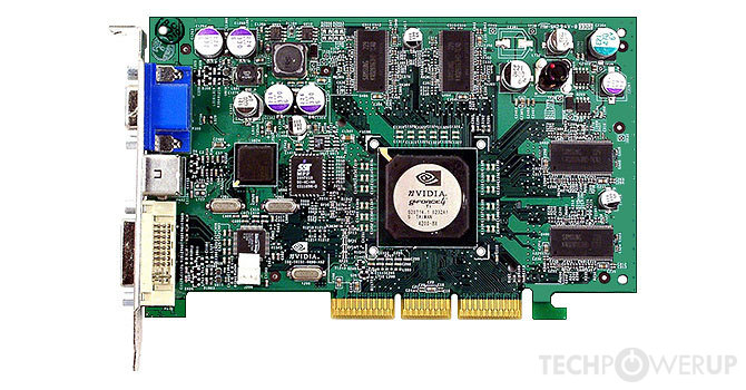nvidia geforce4 ti 4200-8x
