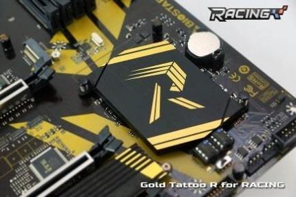 Gold Tattoo RACING R