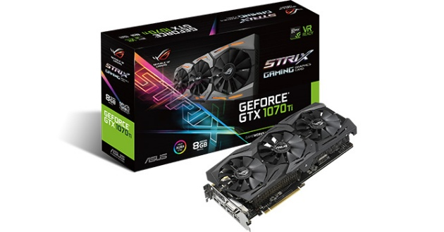 ASUS GeForce GTX 1070 Ti STRIX 8 GB