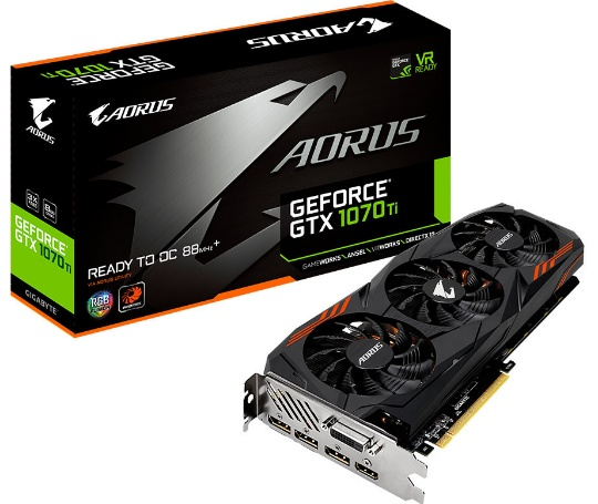 Aorus GeForce GTX 1070 Ti