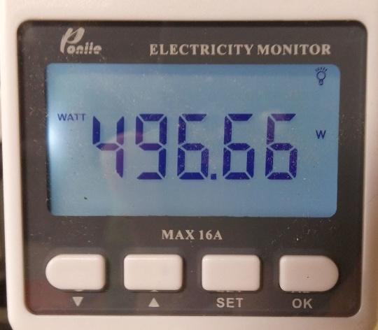 монитор для испытаний эффективности