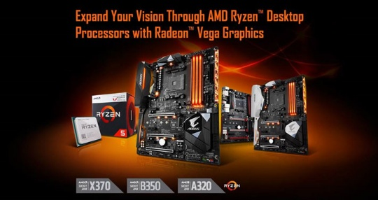 GIGABYTE BIOS AMD Raven Ridge