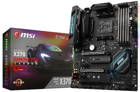 MSI BIOS для APU «Raven Ridge»