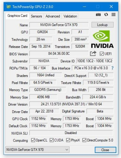 GPU-Z 2.9.0