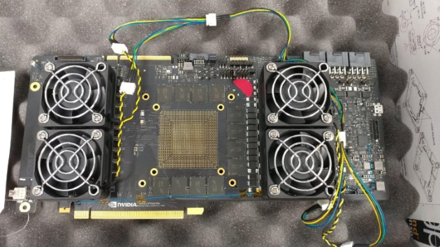 прототип платы под NVIDIA GV102