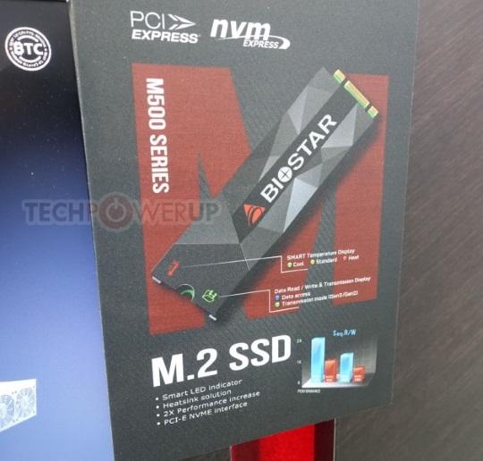 M500 Series M.2 SSD