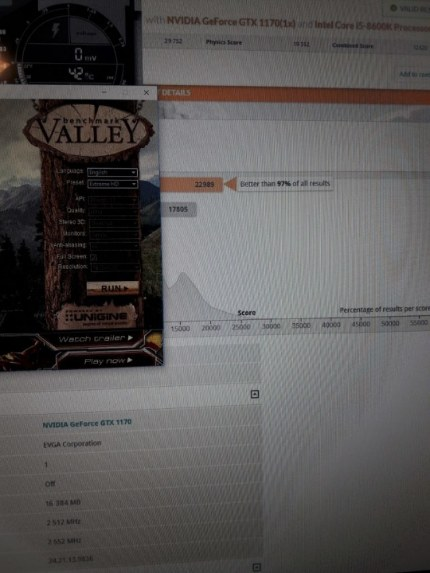 тестs NVIDIA GTX 1170