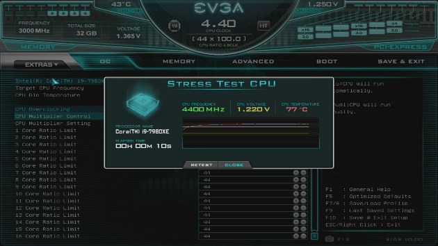BIOS Update EVGA X299 DARK