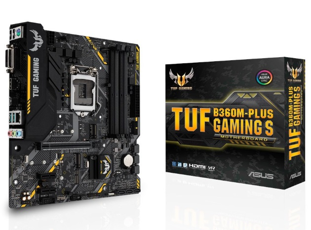 ASUS TUF B360M-Plus Gaming S