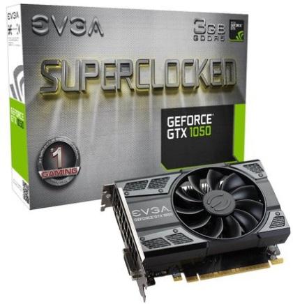 EVGA  GeForce GTX 1050 3 ГБ