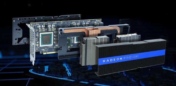 дизайн Radeon Pro V340