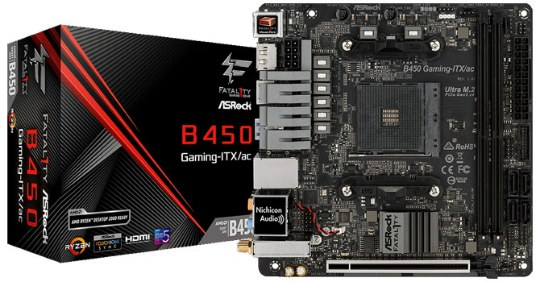 ASRock Fatal1ty B450 Gaming-ITX/ac