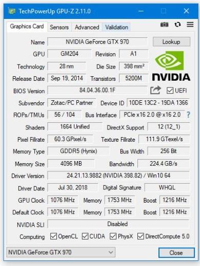 TechPowerUp GPU-Z 2.11.0