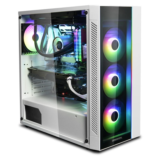 deepcool matrix 55 add-rgb silver