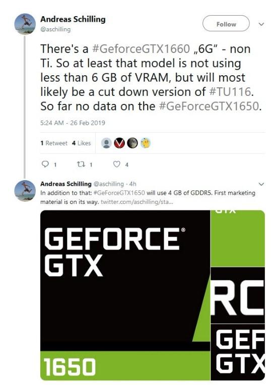 память gtx 1660 и gtx 1650