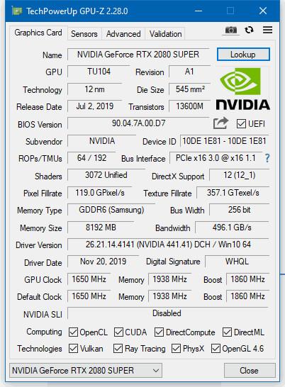 GPU-Z 2.28.0
