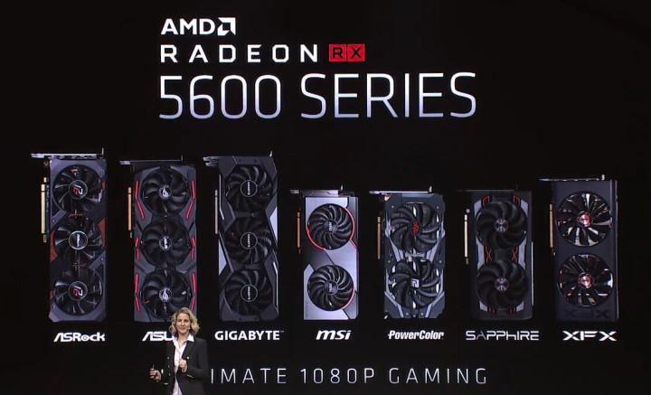 Анонс Radeon RX 5600 XT