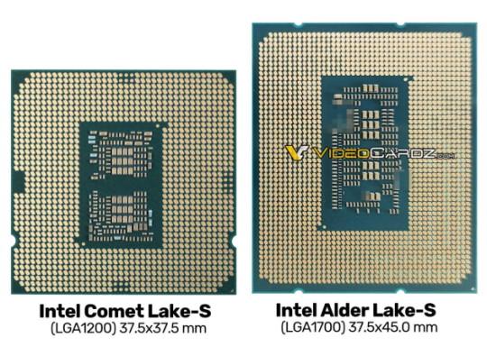 Инженерный образец Intel Alder Lake-S
